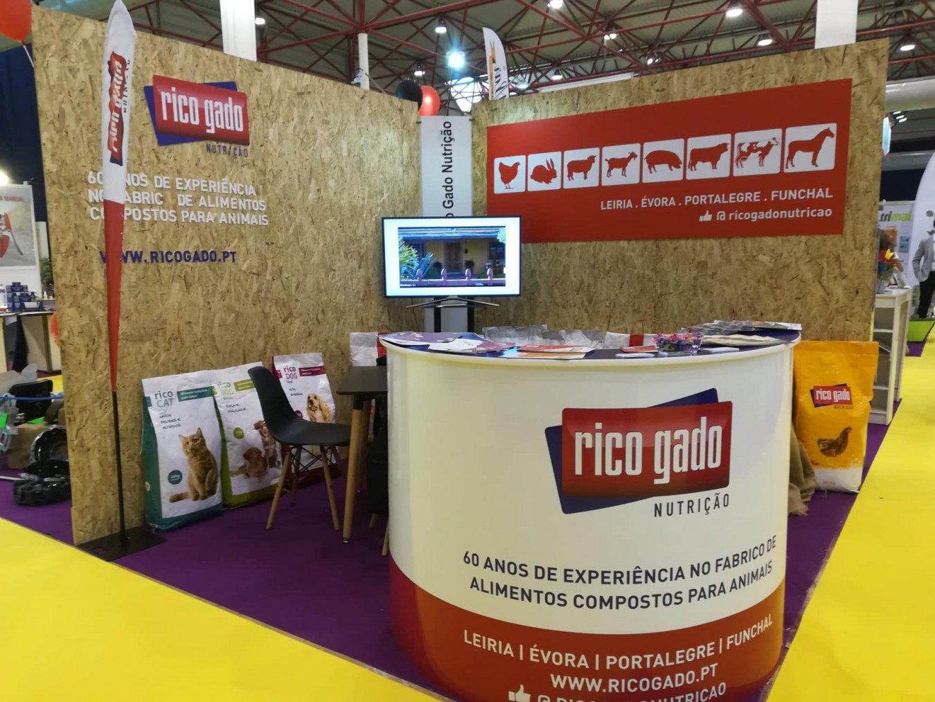 Rico Gado Nutrition is present at the Feira Nacional da Agricultura